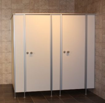 WC-Trennwände - Duschabtrennung Aufmaß und Montage zwischen Aachen ...